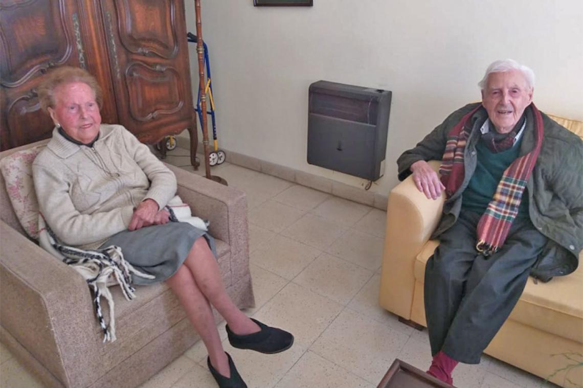 Imagen de Anécdotas de la vida de los Rípodas, dos hermanos longevos que ya pasaron los 100 años