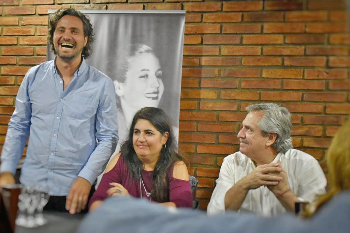Santiago Cafiero y Alberto Fernández, Populismo