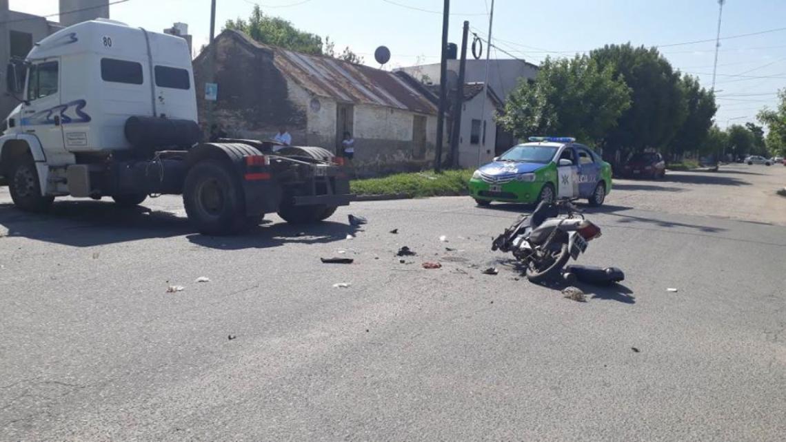 Una joven herida tras un accidente en Dolores - Entrelíneas.info