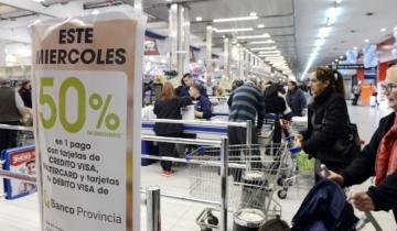 Imagen de Cuándo es el próximo supermiércoles de descuentos del Banco Provincia