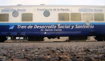 Imagen de El tren de atención social y sanitaria estará durante 15 días en Chascomús