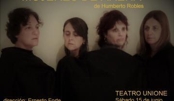 Imagen de Mujeres de Arena es la prestigiosa obra teatral para este sábado en el Unione de Dolores