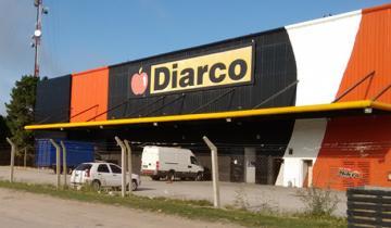 Imagen de Robaron en el supermercado Diarco de General Madariaga