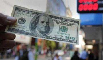 Imagen de El dólar cerró a 45,96 pesos y el Riesgo País bajó tras tocar el máximo en la era Macri
