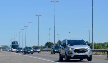 Imagen de Fin de semana largo: cerca de 2.500 autos pasan por hora hacia la Costa Atlántica