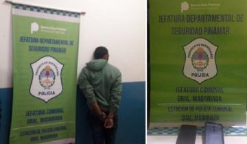 Imagen de Madariaga: hurtó un celular y escapó, pero lo identificaron y fue aprehendido