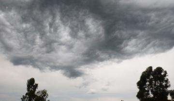 Imagen de Alerta meteorológico por tormentas fuertes y posible granizo en varios sectores de la Provincia