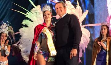 Imagen de Antonella Benedetto es la nueva reina del carnaval del Sol de Dolores