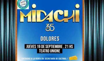 Imagen de La gira de los 35 años de Midachi llega esta semana a Dolores