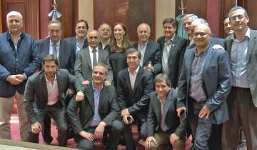 Imagen de De qué habló Vidal con los intendentes de Lavalle, Madariaga, Maipú, Guido y Lezama