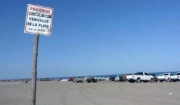 Imagen de Cambio de normativa: los vehículos a motor no podrán circular por las playas de Necochea durante todo el año