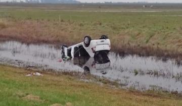 Imagen de Una persona murió esta mañana tras volcar en la Ruta 11
