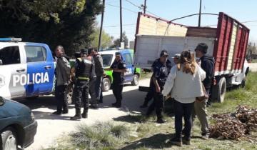 Imagen de Santa Clara: la policía frustró una usurpación y demoró a tres personas