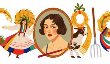 Imagen de Zofia Stryjeńska: quién fue la artista que Google homenajea hoy en su doodle
