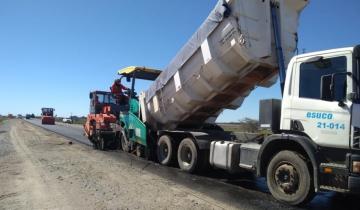 Imagen de Obras en la ruta N° 56: habilitan un desvío provisorio por 60 días a la altura de General Madariaga