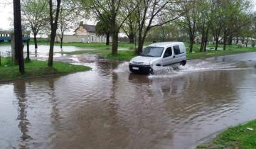 Imagen de Las fuertes lluvias provocaron inconvenientes en toda la región