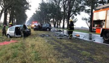 Imagen de Tres muertos y varios heridos fue el saldo de un fatal accidente el la ruta