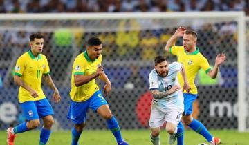 Imagen de Cuándo y dónde se juega la cuarta final de la historia entre Argentina y Brasil