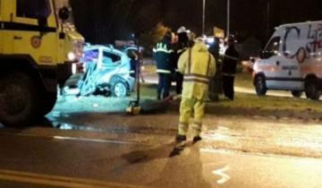 Imagen de Murió un nene de 9 años en un choque en la Ruta 11