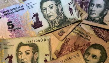 Imagen de Extienden por un mes la vigencia del billete de 5 pesos