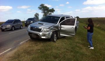 Imagen de Dos accidentes de tránsito en jurisdicción de General Lavalle