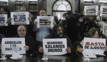 Imagen de Los gremios docentes rechazaron la oferta salarial de la Provincia