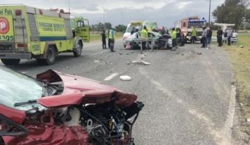 Imagen de Otro choque múltiple en la Autovía 2 arroja siete heridos, tres de ellos menores de edad