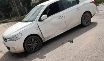 Imagen de Dolores: un motociclista protagonizó un choque y se dio a la fuga