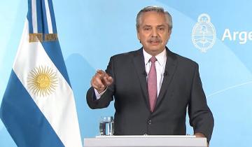 Imagen de Alberto Fernández presenta obras y nuevos ministros