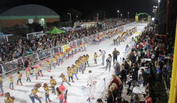 Imagen de Dolores: debutó el Carnaval Tradicional con miles de espectadores