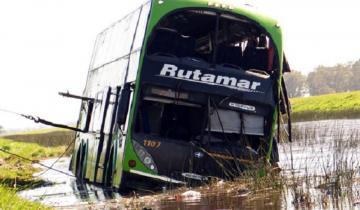 """Imagen de Tragedia en la Ruta 2: denuncian que el chofer acompañante usa una """"libreta trucha"""""""