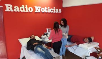Imagen de Radio Noticias cumplió 7 años y organizó una campaña de colecta de sangre