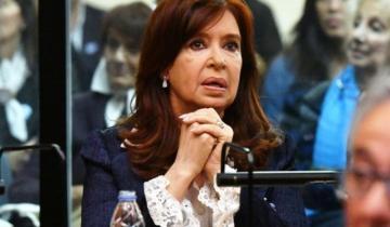 Imagen de Se reanuda el juicio a Cristina Fernández pero no estará presente