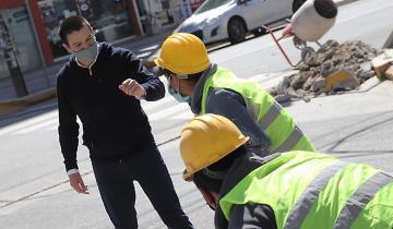 Imagen de La Costa: Cardozo recorrió los trabajos en San Bernardo y confirmo cómo sigue el Plan Integral de Obras