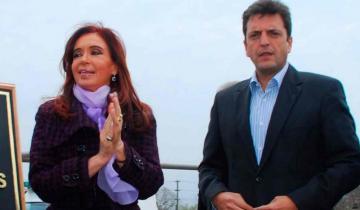 Imagen de El sugestivo acercamiento de Cristina a Massa, tras el robo a las oficinas del tigrense