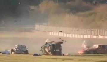 Imagen de Autódromo Oscar y Juan Gálvez: el terrible accidente que terminó con un muerto en Buenos Aires