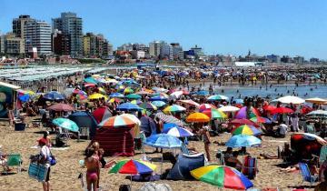 Imagen de Mini vacaciones: unos 123 mil turistas llegaron a Mar del Plata para pasar la Navidad