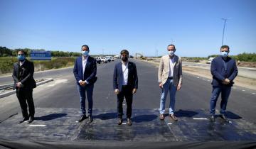 Imagen de Verano 2021: Kicillof y Cardozo presentaron los avances de las obras en las rutas 11 y 56