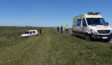 Imagen de Una camioneta despistó en la Ruta 11