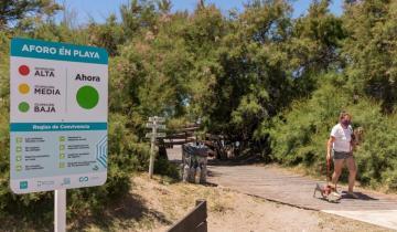 Imagen de Verano 2021: el novedoso método de aforo en las playas que usan en La Costa
