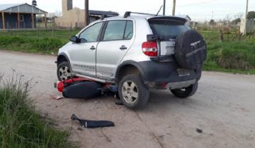 Imagen de Fuerte accidente de tránsito en Dolores: una persona trasladada al hospital