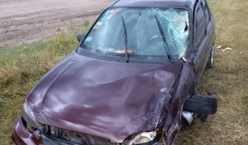 """Imagen de Otros dos accidentes con heridos en rutas camino a la """"Costa Atlántica"""""""