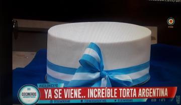 Imagen de Crece la fama de la Torta Argentina, que ahora llegó a la TV Pública