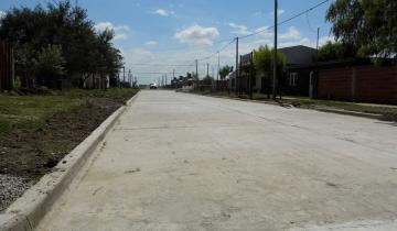 Imagen de Continúan las obras de pavimento en Tordillo
