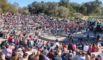 Imagen de Dolores: los estudiantes celebraron su día en el Parque Libres del Sur