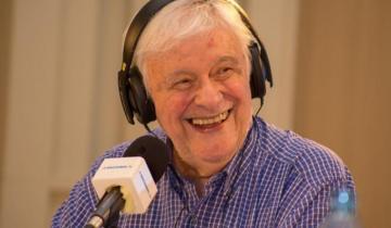 """Imagen de Héctor Larrea anunció su retiro de la radio a los 82 años: """"Resolví ponerle fin a esta carrera de más 60 años"""""""