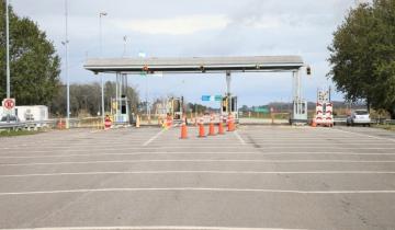 Imagen de Por el intenso tránsito levantaron las barreras del peaje de General Madariaga