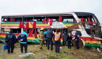 Imagen de Accidente en la Ruta Provincial 2: el chofer del micro se negó a declarar y seguirá detenido
