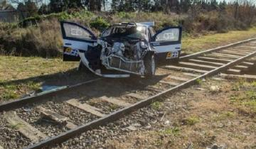 Imagen de Accidente fatal durante la prueba de un auto de rally en Azul