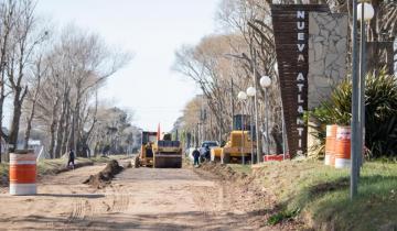 Imagen de Partido de La Costa: comenzaron los trabajos para la pavimentación del acceso a Nueva Atlantis